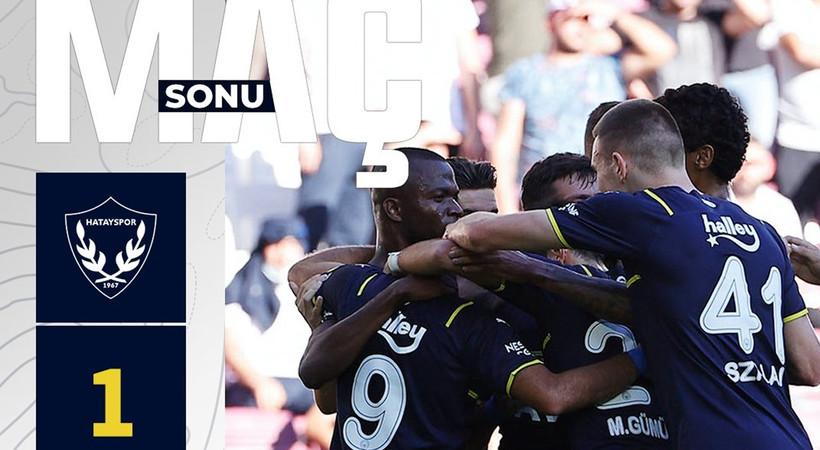 Hatayspor 1-2 Fenerbahçe MAÇ ÖZETİ İZLE