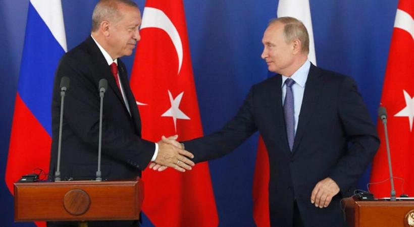 Erdoğan-Putin görüşmesi öncesi Kremlin'den flaş İdlib açıklaması!