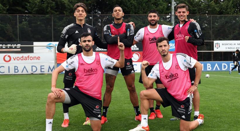 Beşiktaş'ın Başakşehir kadrosunda 4 eksik var