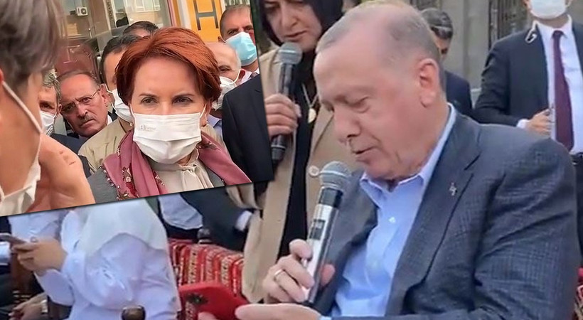 Üniversite öğrencisi ağlayarak Akşener'e ellerini gösterdi... Akşener görüntüleri paylaşarak Erdoğan'a sordu: Uçan Türkiye masallarını anlatabilir misin?