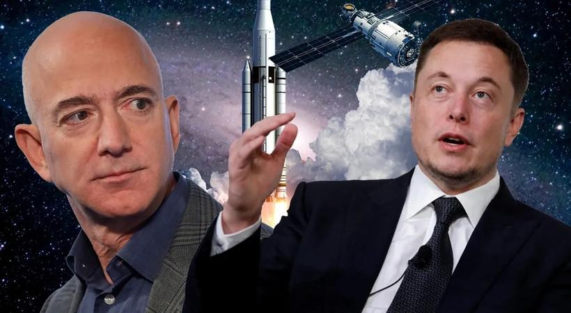 Elon Musk'tan, Jeff Bezos'un Twitter paylaşımına ilginç yanıt