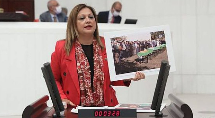 CHP Afyonkarahisar Milletvekili Burcu Köksal, Meclis kürsüsünde ağladı... Afyonkarahisar'da öğrenci servisi kaza yapmış 5 öğrenci hayatını kaybetmişti