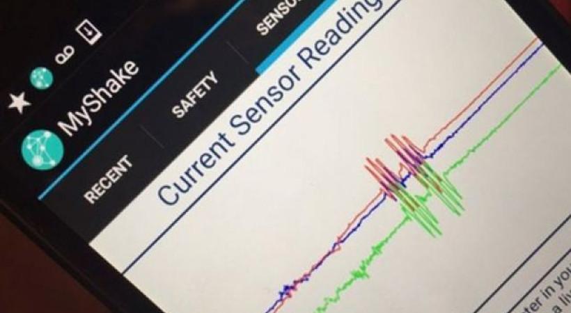 Akıllı telefonlar depremi algılayabilecek