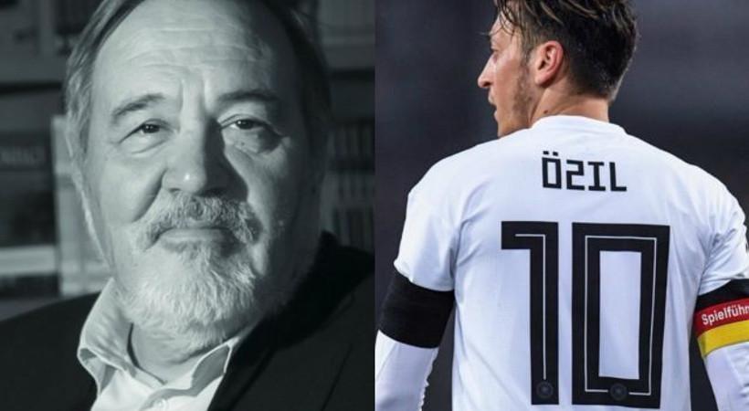 İlber Ortaylı'dan Mesut Özil yorumu: Tavuklar bile güler
