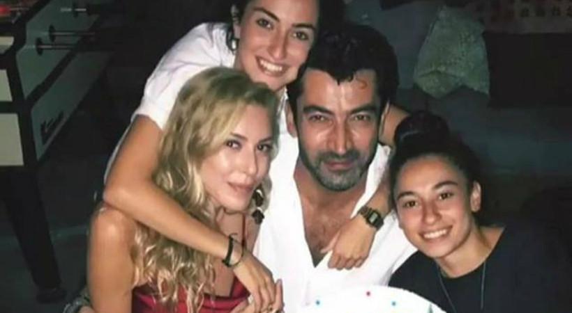 Kenan İmirzalıoğlu'ndan Sinem Kobal'a doğum günü partisi