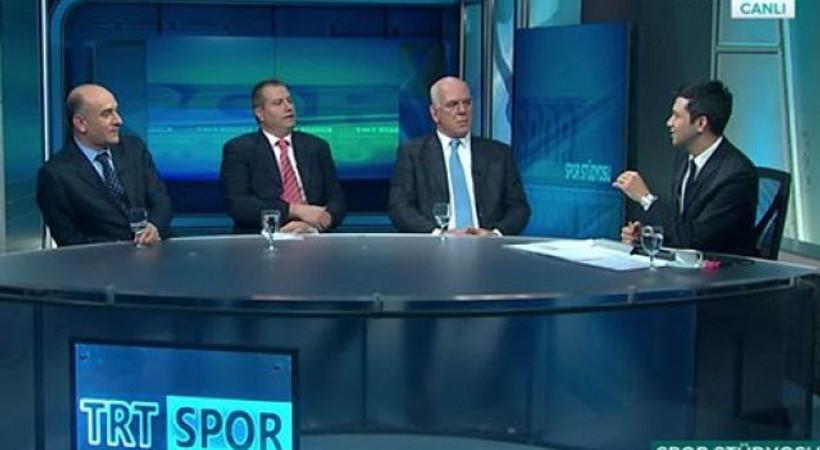 TRT Spor canlı yayınında büyük hata!