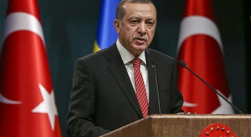 Erdoğan'dan AYM'ye gerekçeli karar tepkisi!