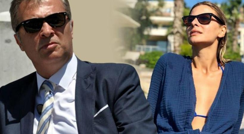 Tuğba Coşkun ve oğlu Ali Sadi'ye Fikret Orman'dan loca jesti!