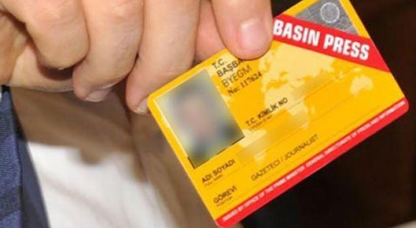 Basın kartı yönetmeliğinin iptali için dava