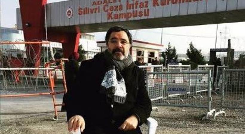 Ahmet Ümit Silivri'de nöbeti devraldı