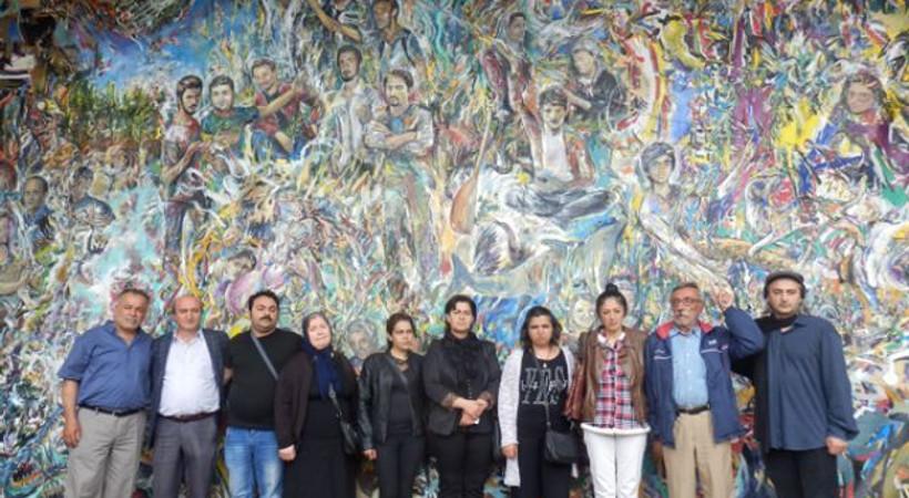 'Gezi Resmi' açılışında duygusal anlar...