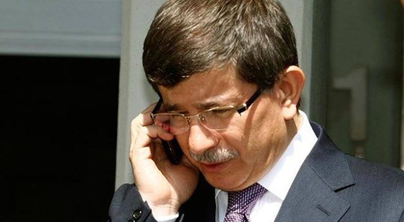 Davutoğlu'ndan genel yayın yönetmenine telefon