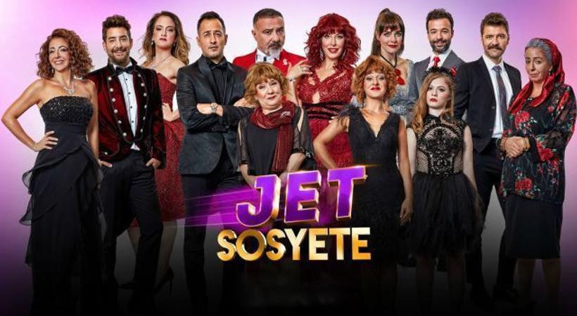 Jet Sosyete yeni sezondan ilk kareler ortaya çıktı