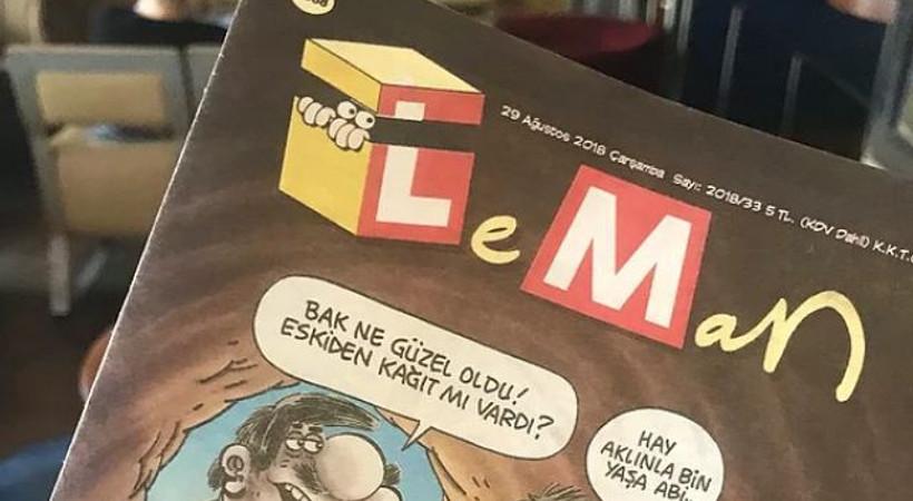 Dolar kurunun vurduğu LeMan dergisi 'cep boy' çıktı, Uykusuz'a zam geldi!