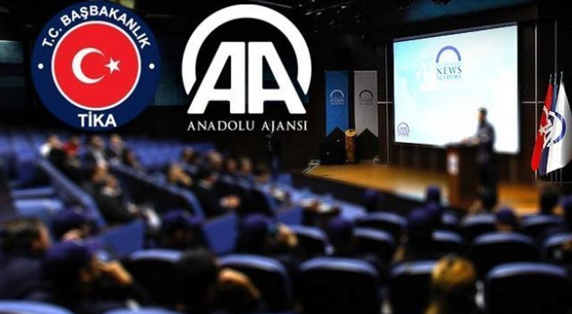 Anadolu Ajansı'ndan komşu gazetecilere ders