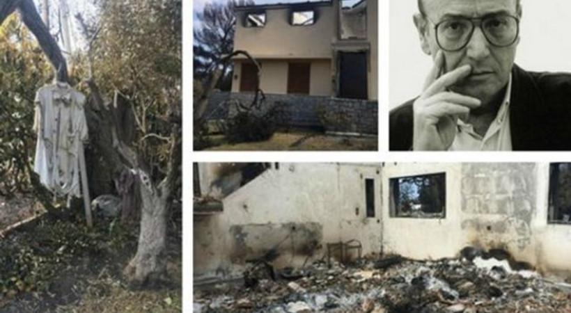Yunanistan'daki yangın ünlü yönetmenin mirasını da yok etti