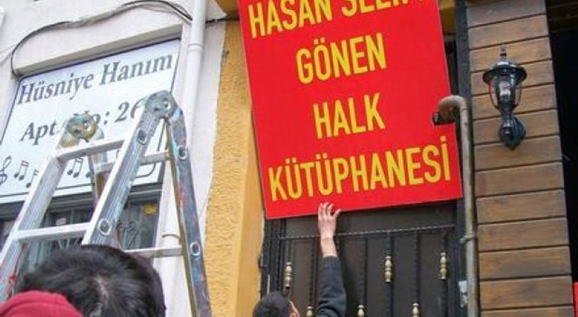 Kadıköy'de kütüphaneye operasyon!