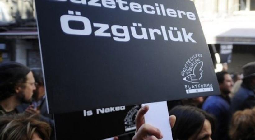 Gazeteciler 'basın özgürlüğü' için toplanıyor!