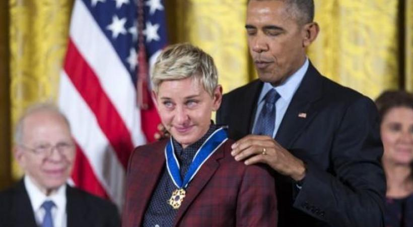 Ünlü komedyene ABD Başkanlık Ödülü