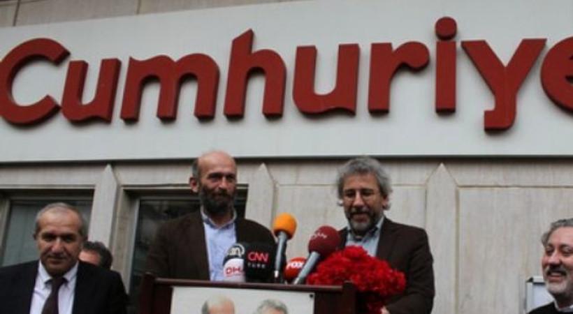 Türkiye Gazeteciler Cemiyeti'nden Cumhuriyet'e ziyaret