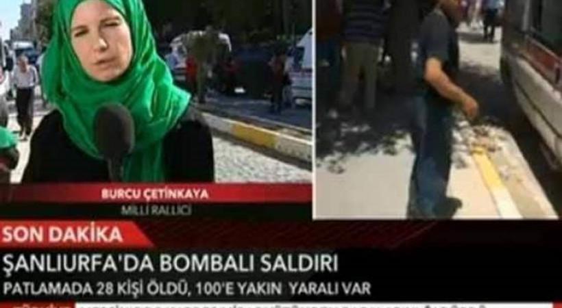 Suruç'a gitti sosyal medya yıkıldı!