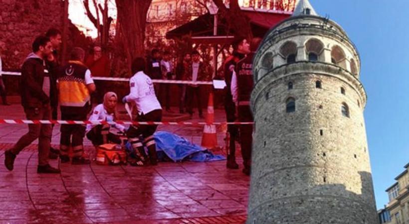 Galata Kulesi'nde korkunç ölüm!