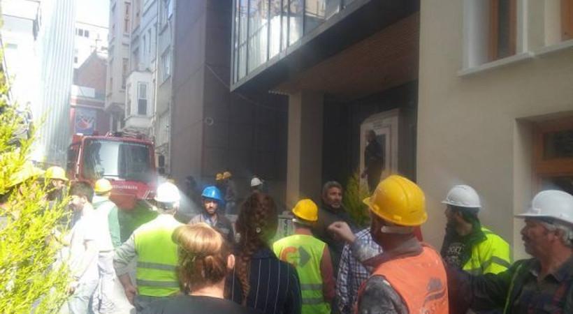 Grand Pera'dan, Yeşilçam Sokak'taki yangınla ilgili açıklama!