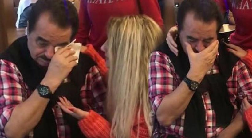 İbrahim Tatlıses neden gözyaşlarına boğuldu?