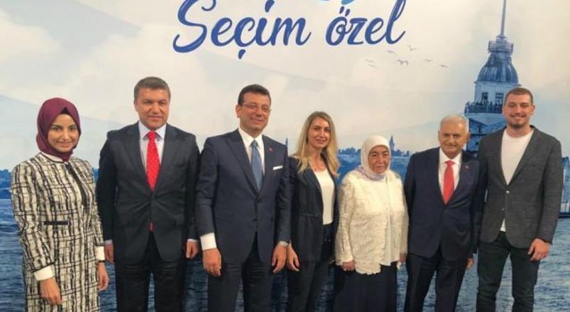 Ortak yayın sonrası aile fotoğrafı!