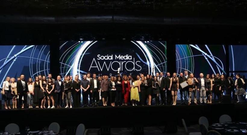Sosyal medyanın en iyileri ödüllerine kavuştu!