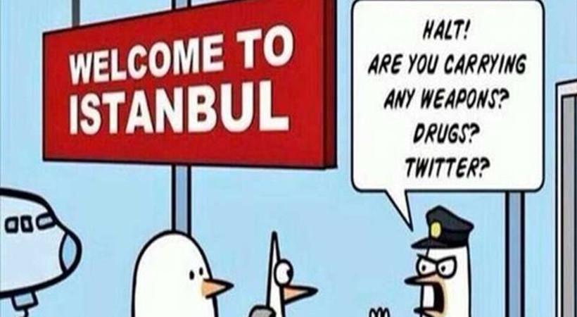 Twitter yine engelli!