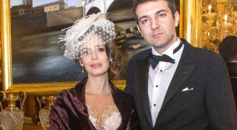 Pelin Batu Roma'da evlendi!