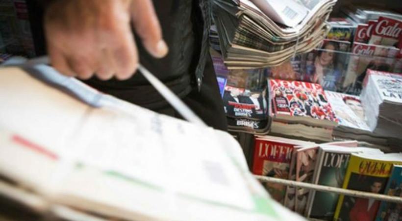 Gazete ve dergilerin sayısında düşüş!