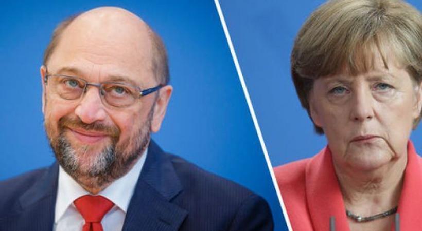 Merkel ve Schulz'un televizyon düellosu Artı TV ekranlarında