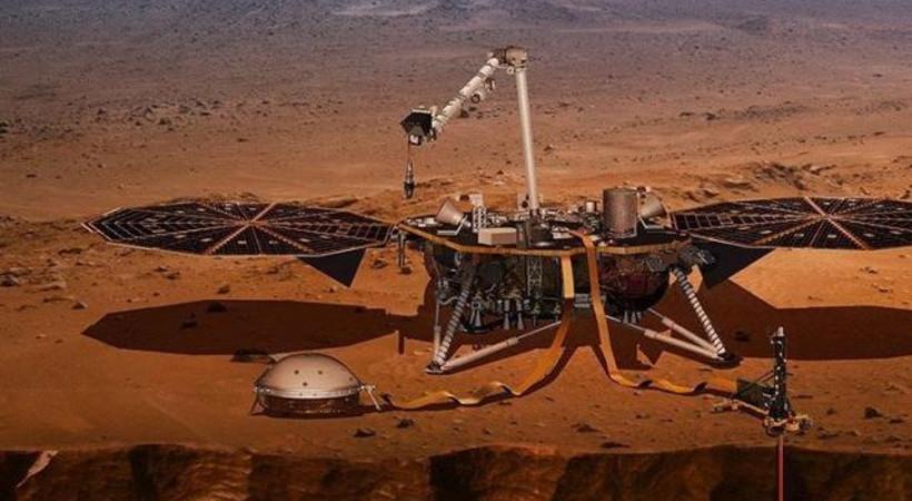 'Mars'ın sesi ilk kez duyuldu'