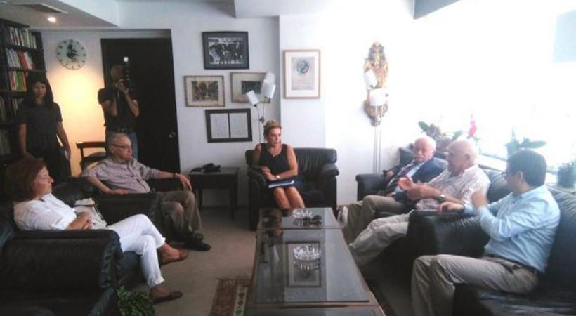 Basın Konseyi'nden Cumhuriyet gazetesine destek ziyareti