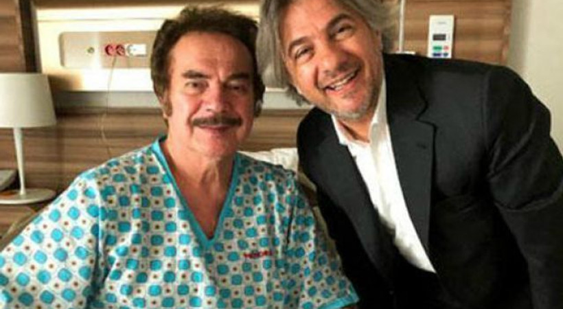 Orhan Gencebay'dan haber var! Hastane odasından ilk fotoğraf