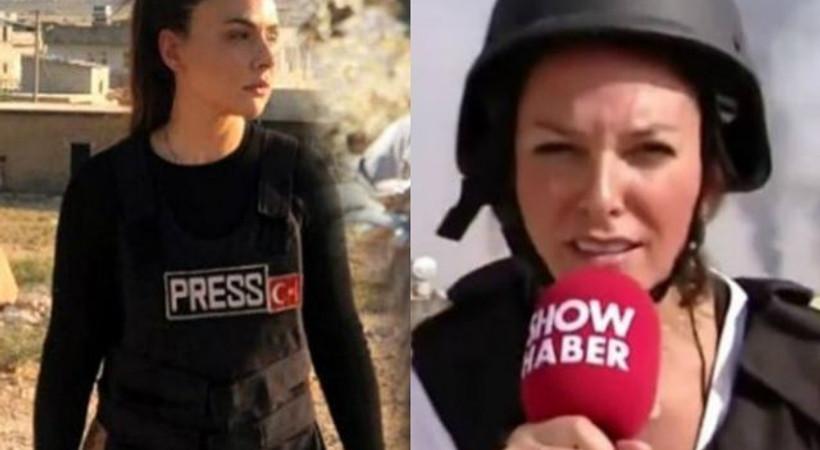 Sınırda anchorwoman dayanışması!