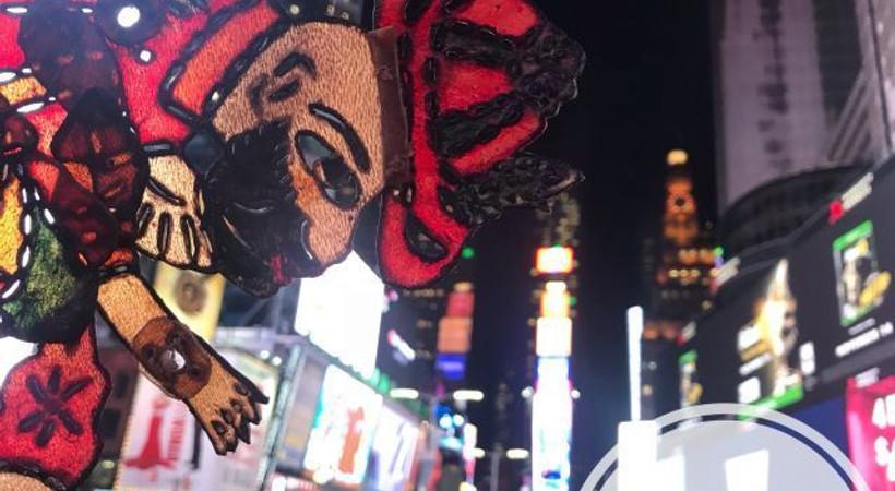 Karagöz, Broadway'de ayakta alkışlandı!