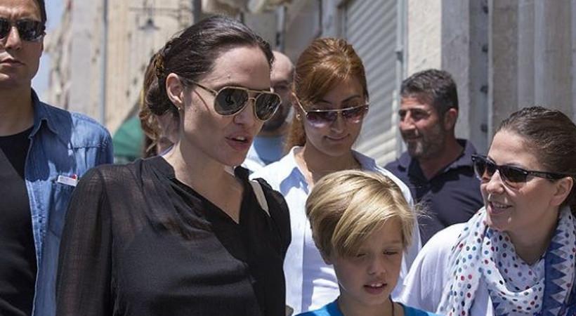 Angelina Jolie, Mardin'de şaşırttı!