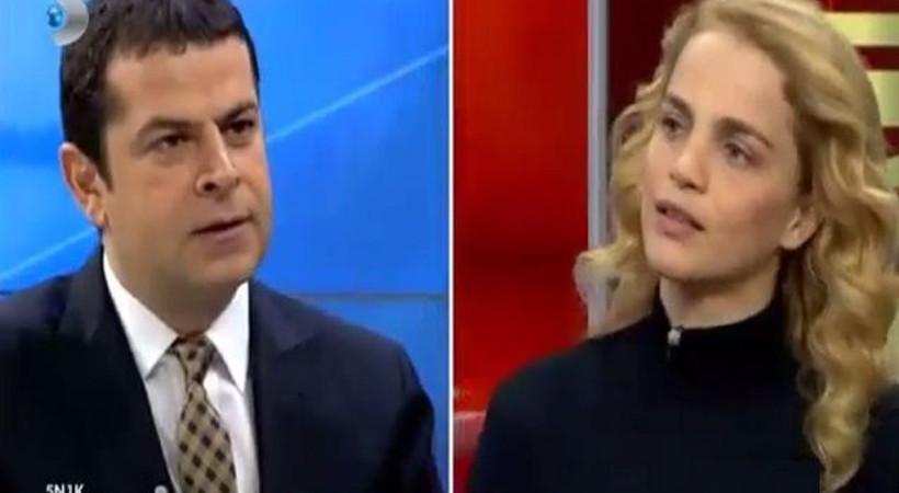 Tuğçe Kazaz Cüneyt Özdemir'i güldürdü: CHP'ye tepki olarak Hristiyan oldum
