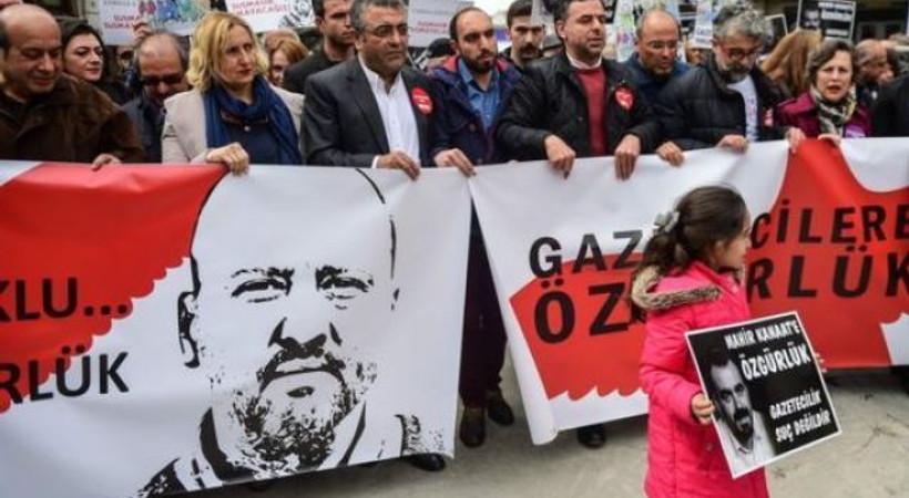 Türkiye basın özgürlüğünde yine sınıfta kaldı!