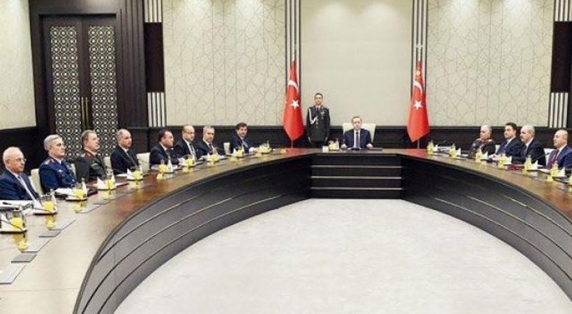 5,5 saatlik MGK toplantısı sona erdi neler konuşuldu?