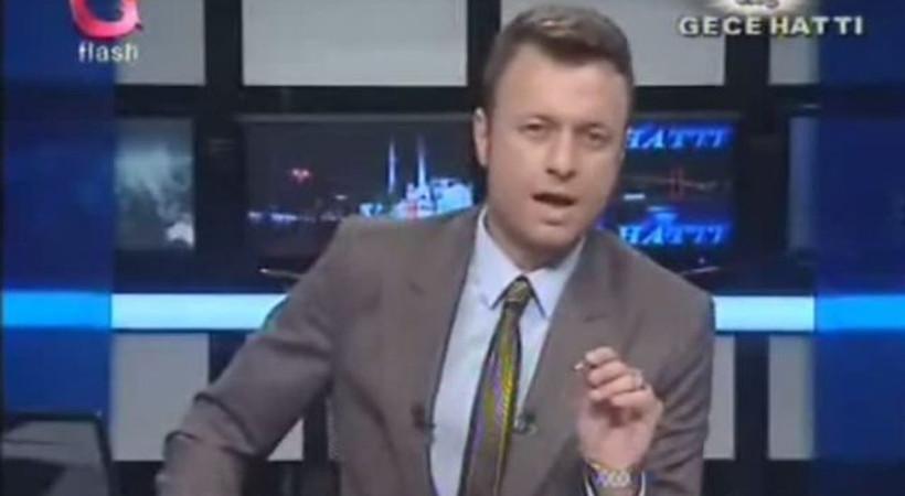 Flash TV spikerinden sel ayarı: Gına geldi!
