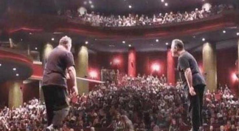 Gösterisi sırasında rahatsızlanan Cem Yılmaz'dan açıklama!