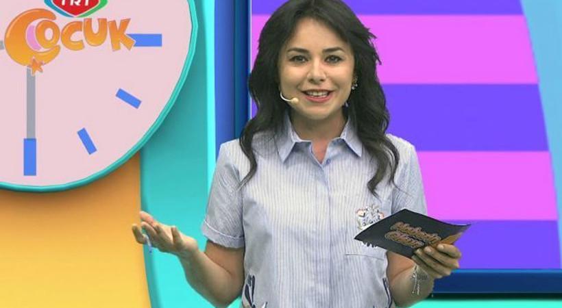 Tepkiler sonrası TRT Çocuk sunucusundan açıklama!