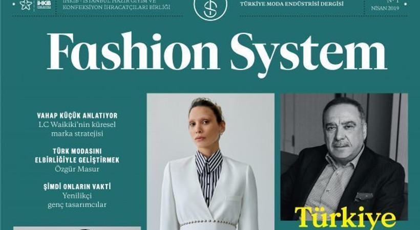 Dergi dünyasına yeni soluk! Fashion System'in ilk sayısı raflarda