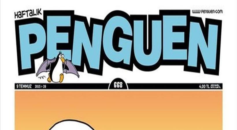 Türkler, Çin Seddi'ni yıkıyor! Bu hafta Penguen'in kapağında!