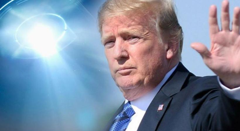 Donald Trump'tan UFO açıklaması: Her şey mümkün