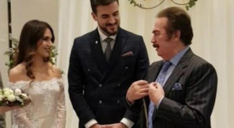 Nişan yüzüklerini Orhan Gencebay taktı